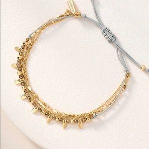 Stella & Dot Delicate Petal Bracelet NIB